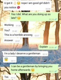 Girl to examples talking sexually a Freaky Paragraphs