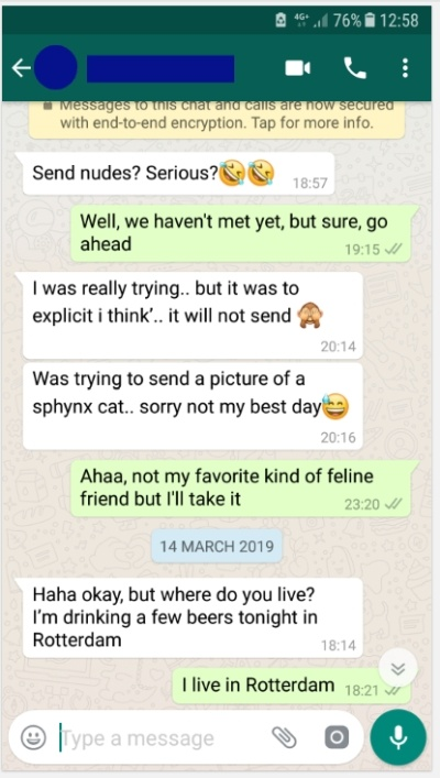 One on one chat with girls