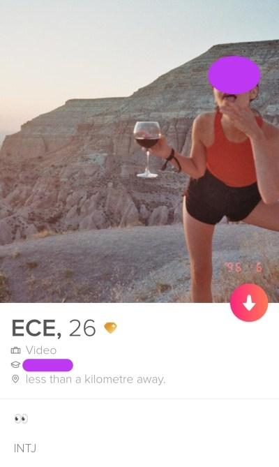 Personality type bio Tinder