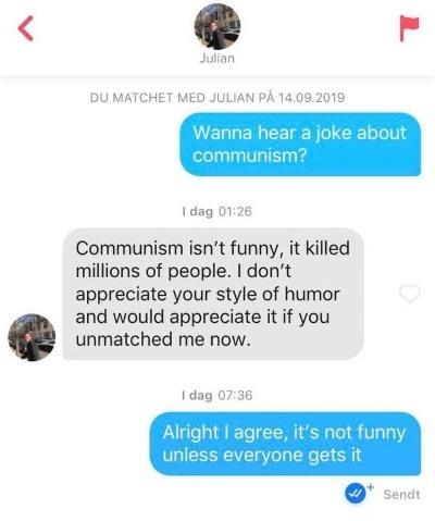Witty responses to guys